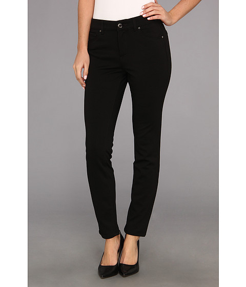 Blugi Anne Klein New York - Leo Skinny Ankle in Black - Black