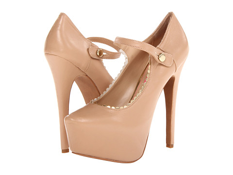 Pantofi Betsey Johnson - Ellaa - Nude Leather
