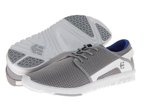 Adidasi etnies - Scout - Grey/White