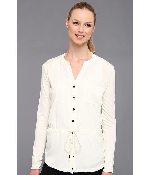 Bluze Calvin Klein - Drawstring Rayon Spandex Top - Birch