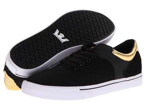 Adidasi Supra - Griffin - Black/Gold/White