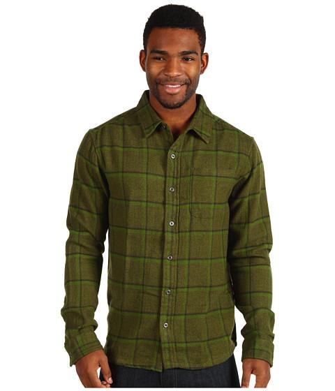 Camasi Prana - Dutchman Flannel LS - Leaf