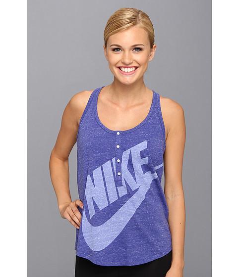 Bluze Nike - Gym Vintage Tank - Deep Night/Sail