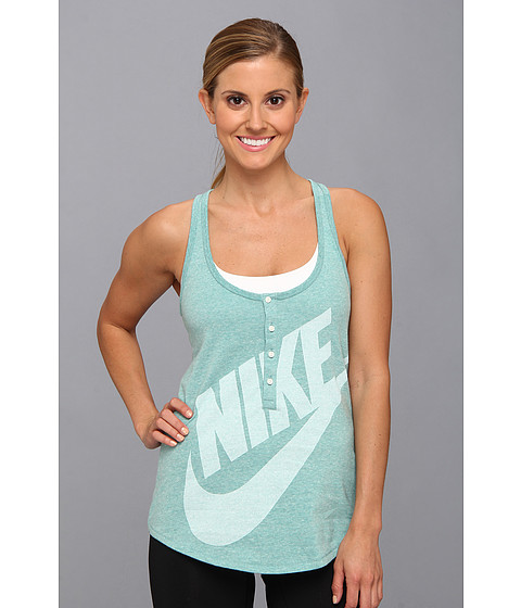 Bluze Nike - Gym Vintage Tank - Diffused Jade/Sail