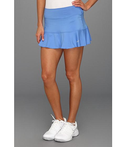 Fuste Nike - Flounce Knit Skort - Distance Blue/Matte Silver