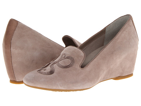 Pantofi Hush Puppies - Emley Wedge SO - Taupe Suede