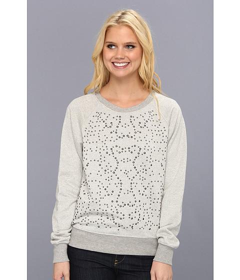 Bluze C&C California - L/S Embellished Sweatshirt - Heather Grey