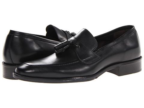 Pantofi Johnston & Murphy - Larsey Tassel - Black Italian Calfskin