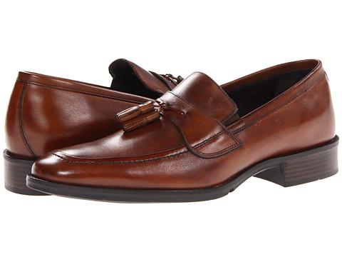 Pantofi Johnston & Murphy - Larsey Tassel - Tan Italian Calfskin