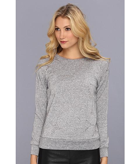 Bluze Rebecca Taylor - Faceted Embellished Sweatshirt - Grey