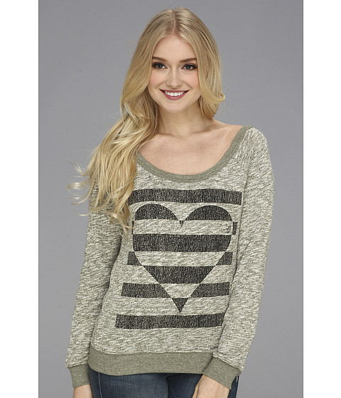 Bluze Volcom - Lov Crew Fleece - Military