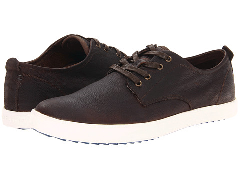 Adidasi Hush Puppies - Roadside Oxford PL - Dark Brown Leather
