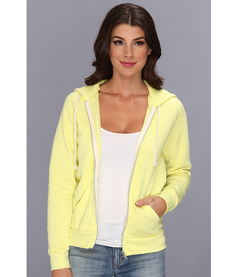 Bluze Alternative Apparel - Adrian Hoodie - Eco True Lemon