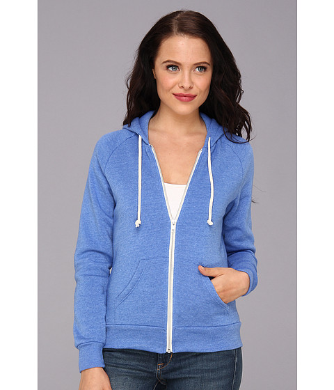 Bluze Alternative Apparel - Adrian Hoodie - Eco True Royal