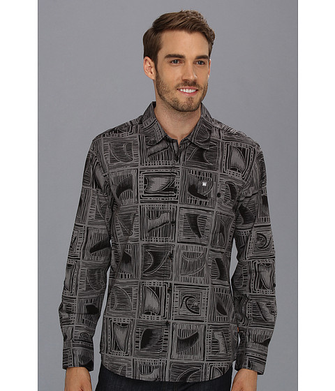 Camasi Quiksilver - Banyans L/S Shirt - Black