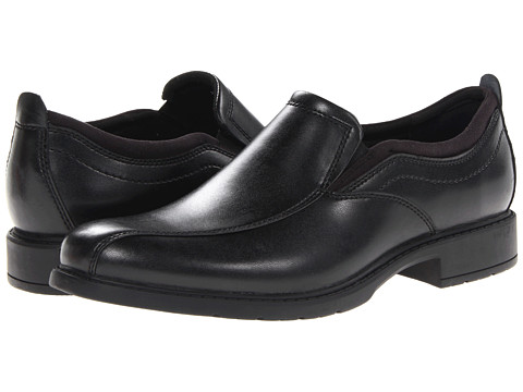 Pantofi Bostonian - Grantt Allred - Black Leather