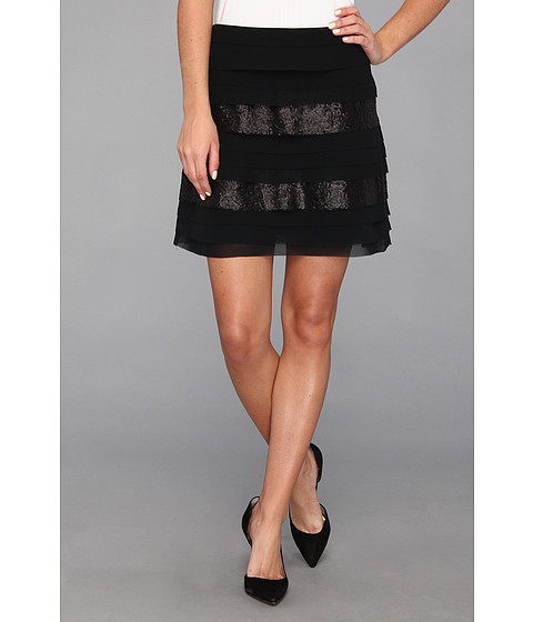 Fuste BCBGeneration - Tiered Skirt - Black