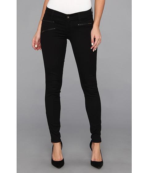 """Pantaloni Lucky Brand - Charlie Super Skinny Moto 29\"""" in Black Rinse - Black Rinse"""