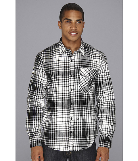 Camasi Volcom - Donner L/S Button Up - Black