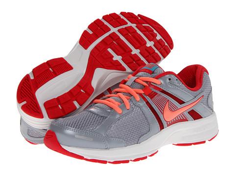 Adidasi Nike - Dart 10 - Wolf Grey/Fushion Red/Gamma Blue/Atomic Pink