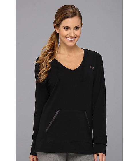 Bluze PUMA - Holiday Cover Up Top - Black