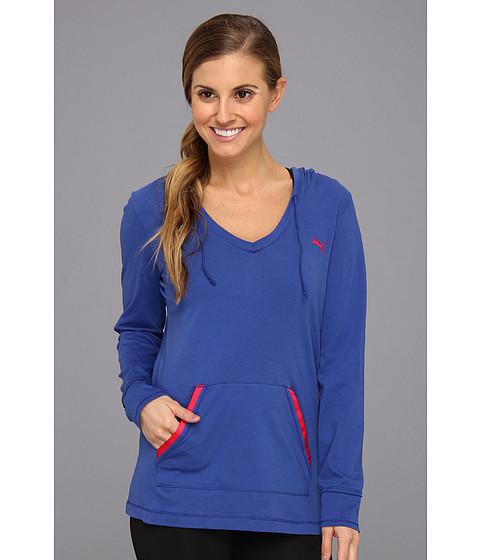 Bluze PUMA - Holiday Cover Up Top - Mazarine Blue/Virtual Pink