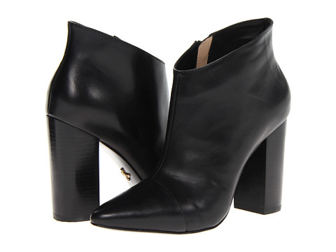 Botine Pour La Victoire - Lim Dress Bootie - Black Baby Calf