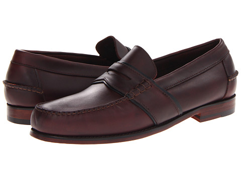 Pantofi Bass - Colvin - Burgandy/Navy