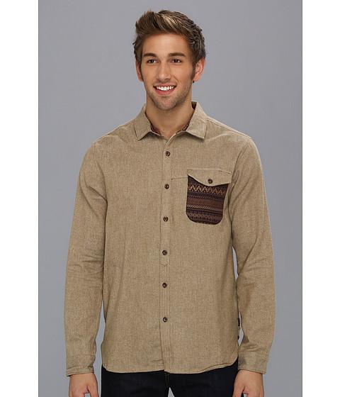 Camasi Billabong - Grinder L/S Shirt - Camel