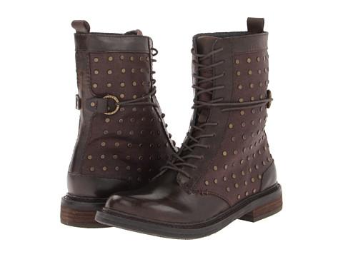Botine Calvin Klein Jeans - Cassey - Espresso/Dark Brown Black Waxy Linen/Leather