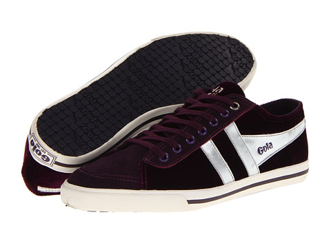Adidasi Gola - Quota Velour - Purple/Silver