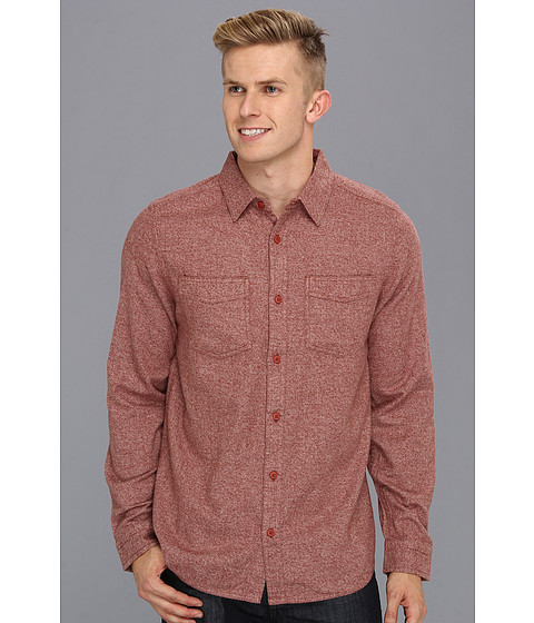 Camasi DC - Seneca L/S Shirt - Heather Marooned