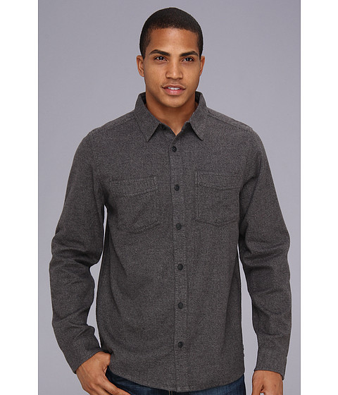 Camasi DC - Seneca L/S Shirt - Heathered Black