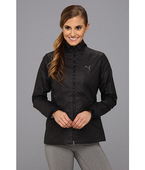 Bluze PUMA - Quilted Wind Jacket - Black