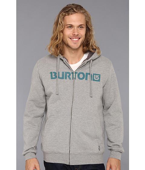 Bluze Burton - Fireside Full-Zip Hoodie - Heather Grey