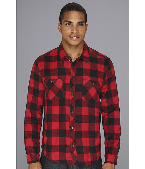 Camasi Alternative Apparel - Timbers Button Up - Buffalo Plaid