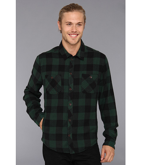 Camasi Alternative Apparel - Timbers Button Up - Pine Buffalo Plaid