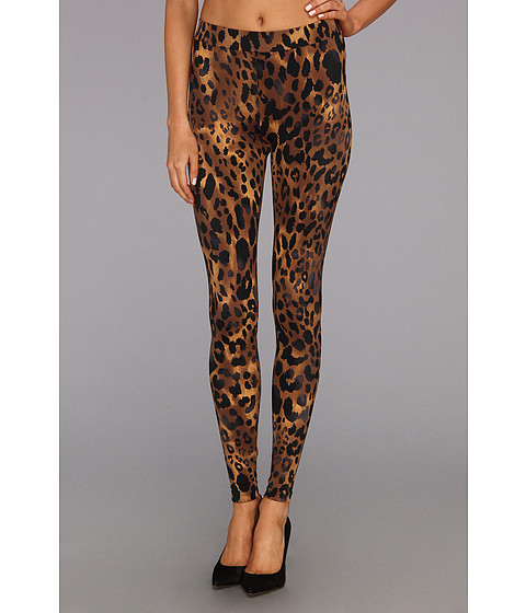 Pantaloni C&C California - Bengal Tiger Printed Legging - Chocolate