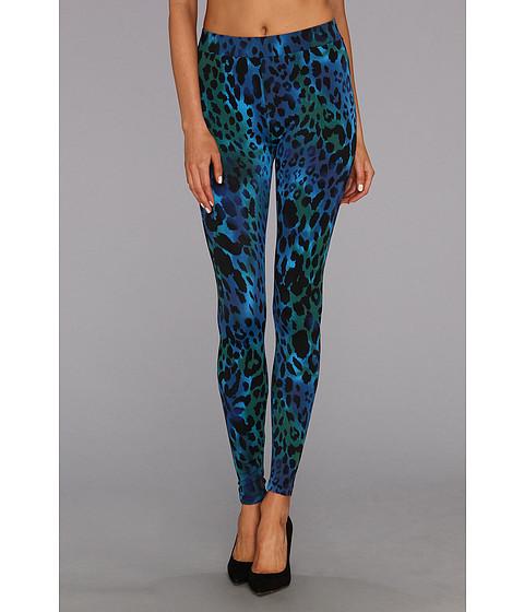 Pantaloni C&C California - Bengal Tiger Printed Legging - Cobalt