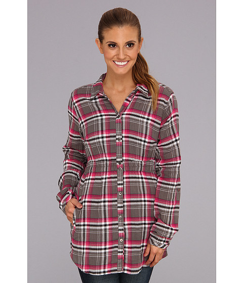 "Camasi Columbia - Checked Tunicâ""¢ - Deep Blush Plaid"