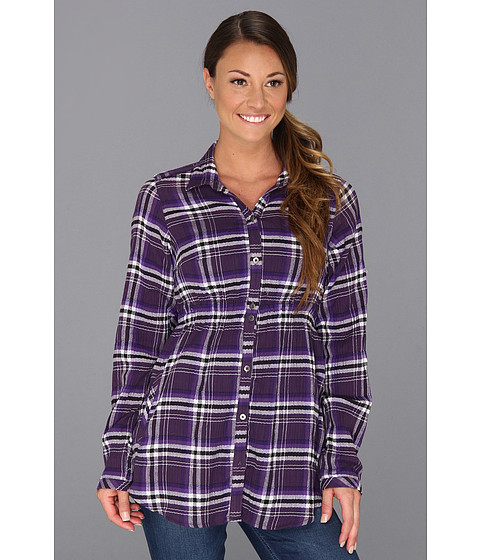 "Camasi Columbia - Checked Tunicâ""¢ - Quill Plaid"