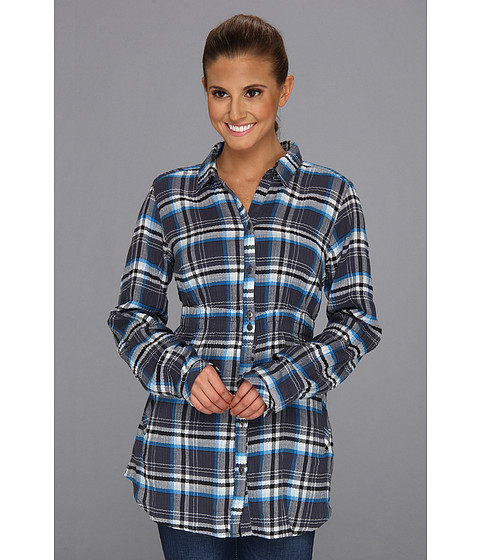"Camasi Columbia - Checked Tunicâ""¢ - Dark Compass Plaid"