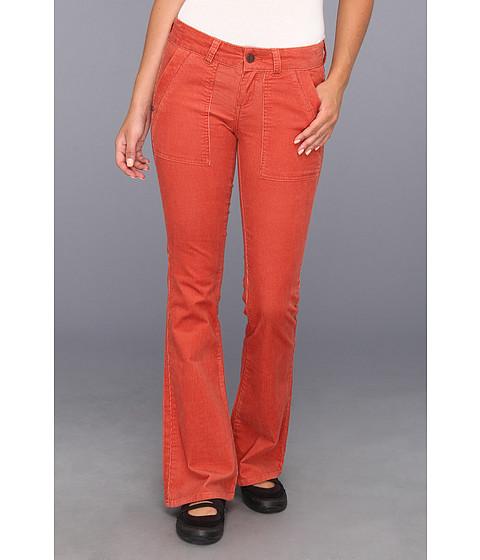 Pantaloni Prana - Adelle Cord Pant - Indian Red