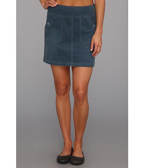 Fuste Prana - Canyon Cord Skirt - Blue Yonder