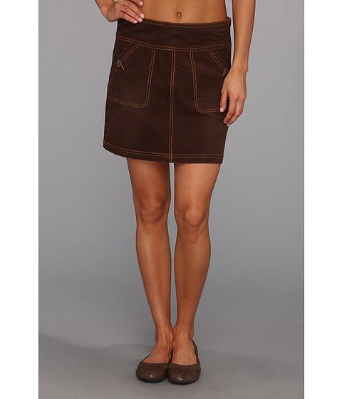 Fuste Prana - Canyon Cord Skirt - Espresso