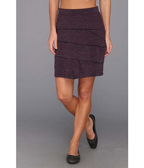 Fuste Prana - Leah Skirt - Dark Eggplant