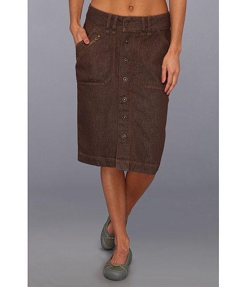 Fuste Royal Robbins - Cruiser Skirt - Turkish Coffee