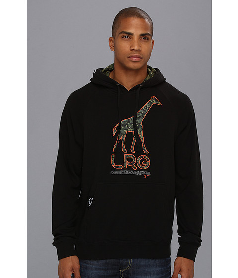 Bluze L-R-G - Hideout 47 Pullover Hoodie - Black