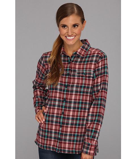 Camasi Patagonia - L/S Fjord Flannel Shirt - Roadie/Tidal Teal