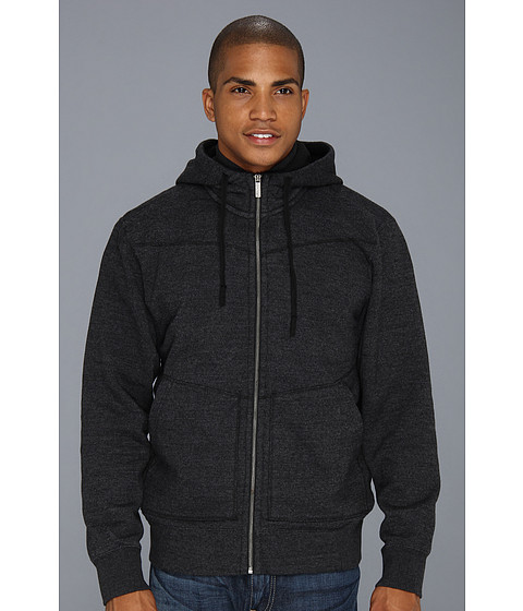 Bluze Horny Toad - Big Chill Hoodie - Charcoal/Black
